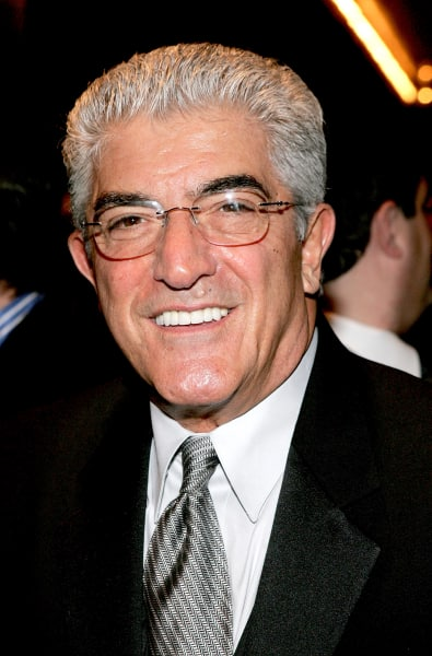 Frank Vincent in Black
