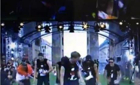 German Team Dances at World Cup Presentation!