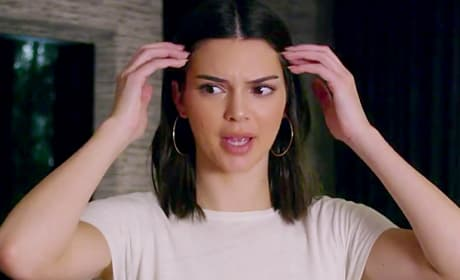 Kendall Jenner in a Video