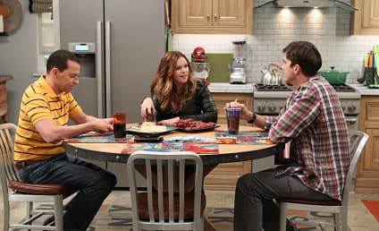 Two and a Half Men First Look: It's Amber Tamblyn!