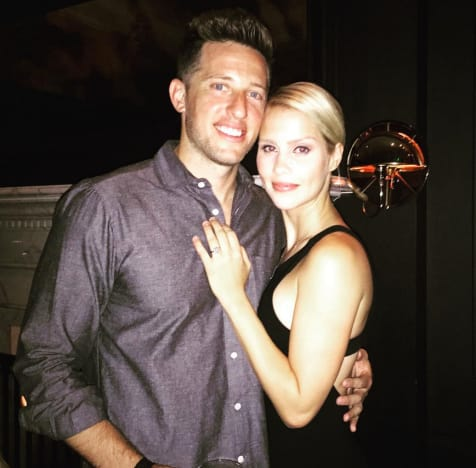 Claire Holt and Matt Kaplan