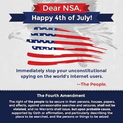 Happy 4th of July, NSA!
