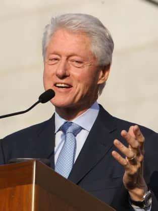 Bill Clinton on the Mic