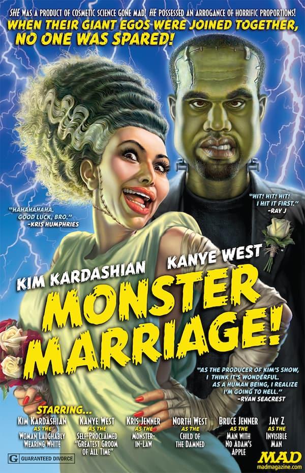 Mad Magazine Kimye Spoof