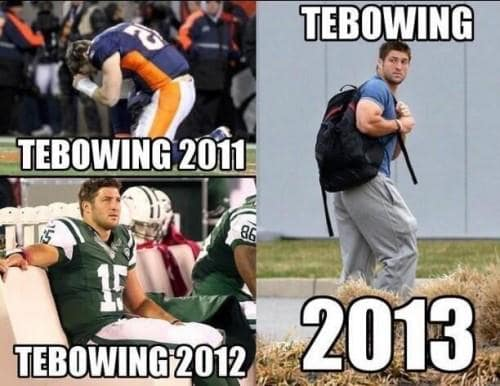 Tebowing Photos