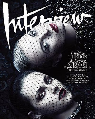 Kristen Stewart and Charlize Theron Interview Cover