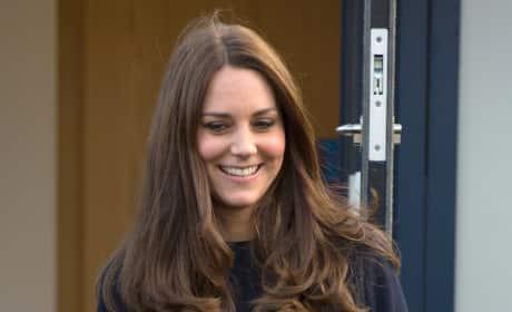 Kate Middleton Baby Bump #2