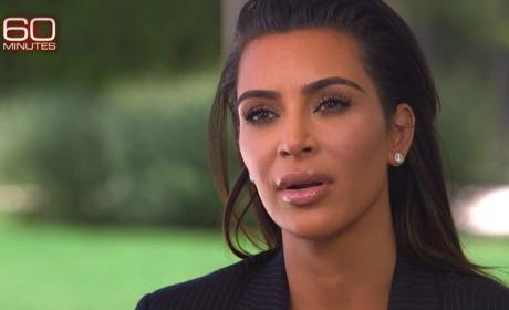 Kim Kardashian on 60 Minutes