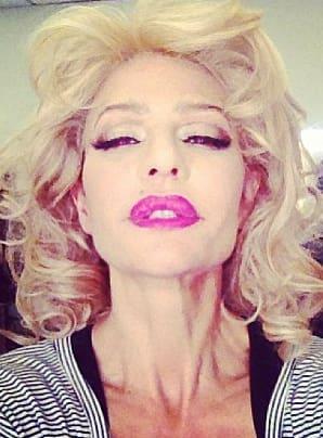 Lisa Rinna as Marilyn Monroe