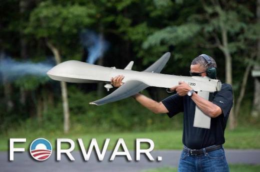 Obama Gun Parody Pic