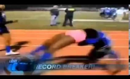 Cheerleader Does 44 Backflips in a Row, Breaks Guinness World Record