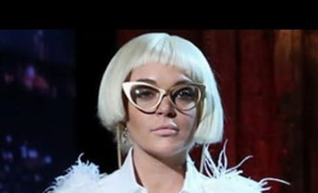 Lindsay Lohan on Late Night With Jimmy Fallon