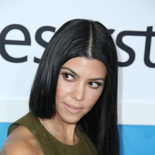 Kourtney Kardashian Side-Eyes