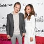 Ryan Dorsey and Naya Rivera, in Happier Times