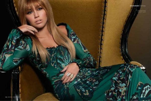Miley Cyrus for Prestige
