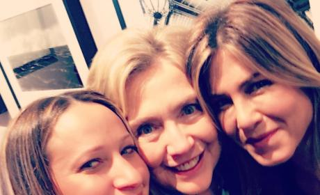 Hillary Clinton and Famous Friends