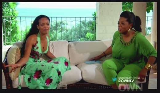 Oprah and Rihanna Pic