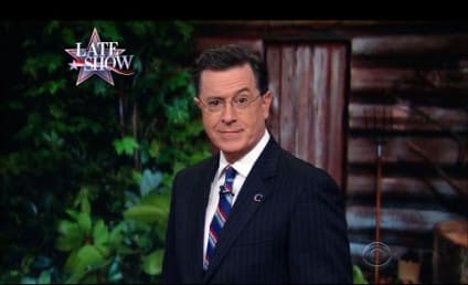 Stephen Colbert Brings Back Colbert Report Character for Obama!