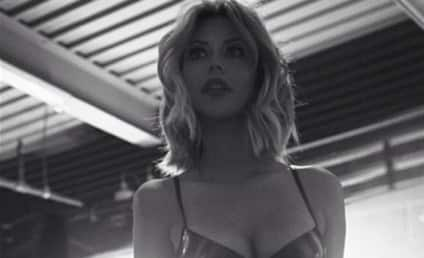 Aubrey O'Day Poses in Lingerie, Brags About Weight Loss