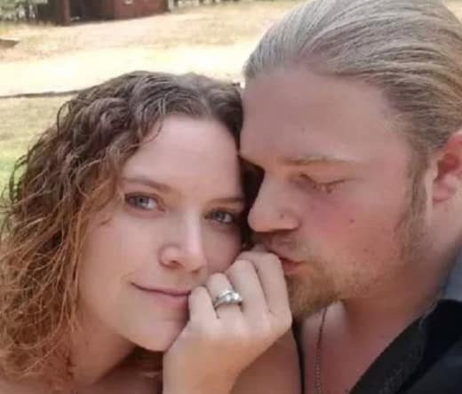 Noah Brown and His Wife