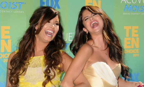 Selena Gomez and Demi Lovato