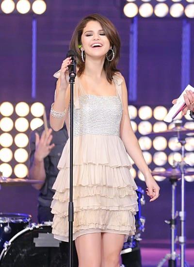 Selena on Stage