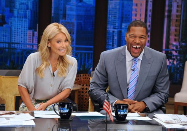 Good Morning America Gossip : Michael strahan to join good morning america the