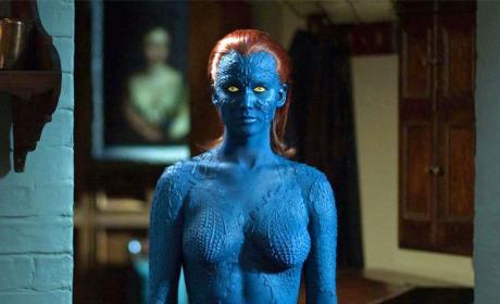 Jennifer Lawrence as Mystique