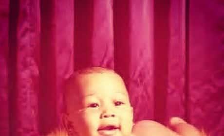 John Legend Baby Photo