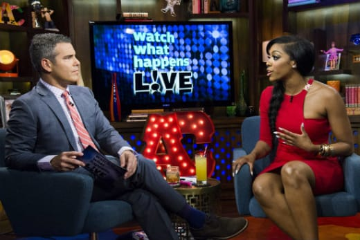 Porsha Stewart on Watch What Happens Live
