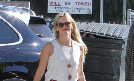 Reese Witherspoon Shops in Brentwood