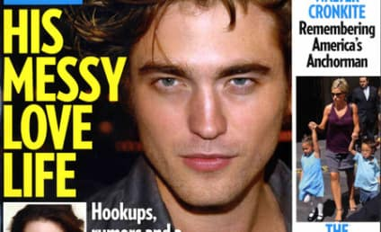 "Magazine Says Robert Pattinson ""Really Wants His Costar"""