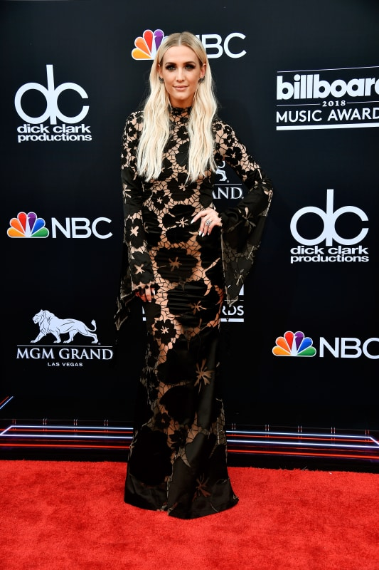 Ashlee simpson at the bmas