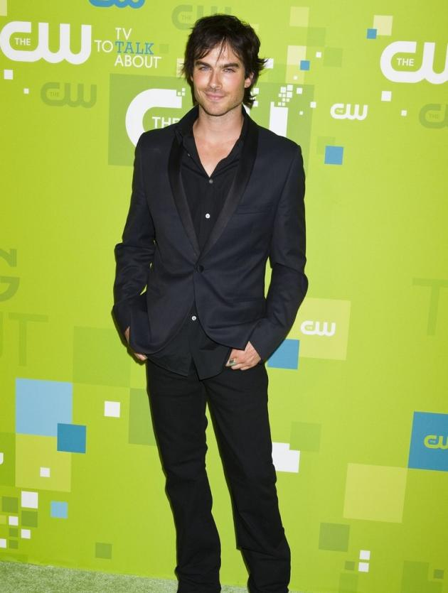 Ian Somerhalder at the Upfront