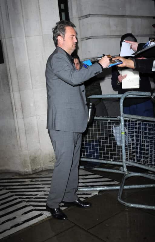 Matthew Perry Outside BBC Radio 2 Studios