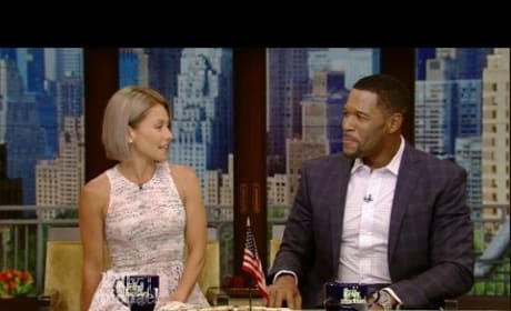 Kelly Ripa Responds to Justin Bieber Crush
