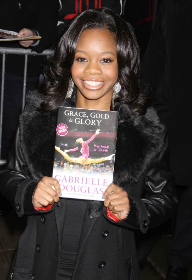 Gabby Douglas Book Photo