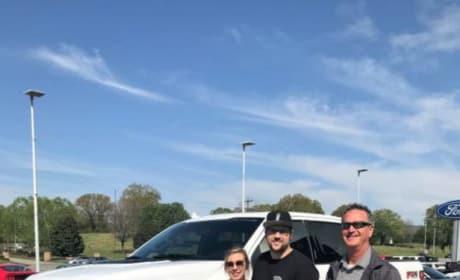 Ryan Edwards and Mackenzie Standifer New Truck