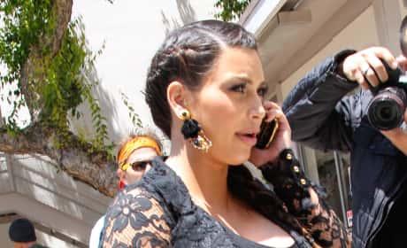 Kim Kardashian Makes a Call