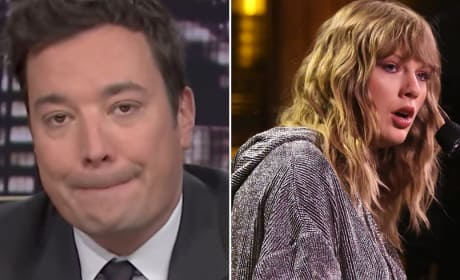 Taylor Swift Debuts New Song on The Tonight Show, Brings Jimmy Fallon to Tears