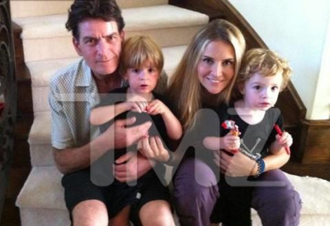 Charlie, Brooke and Twins