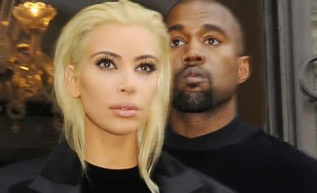 Kim Kardashian and Kanye West: Paris Fashion Week 2015