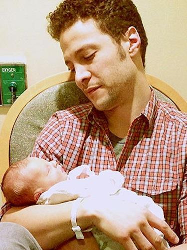 Justin Guarini, Son