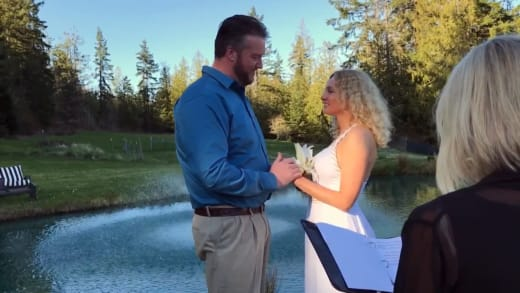 Natalie Mordovtseva and Mike Youngquist actually getting married