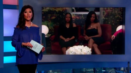Julie Chen Evicts a Celebrity