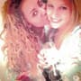 Mel B and Lorraine Gillies