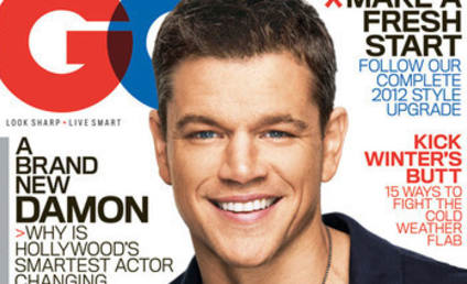 Matt Damon in GQ: Handsome as Ever!