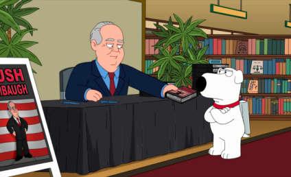 Rush Limbaugh: Coming to Family Guy!