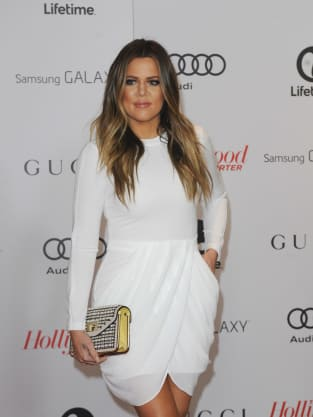 Khloe in White