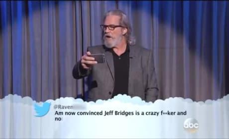 Celebrities Read Mean Tweets... Live!